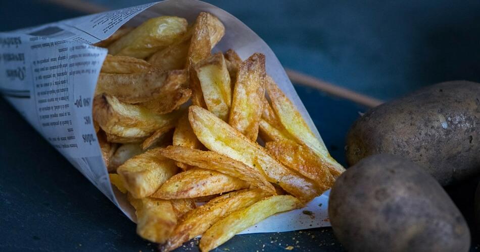Fettfreie knusprige Pommes mit dem Philips Airfryer