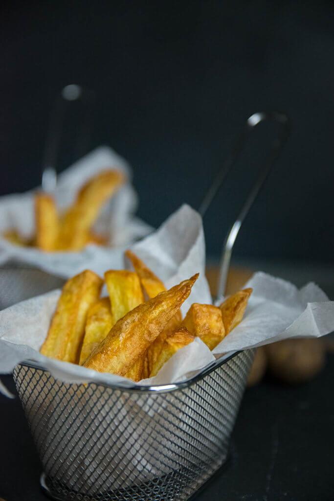 Pommes selber machen - frittieren ohne Öl