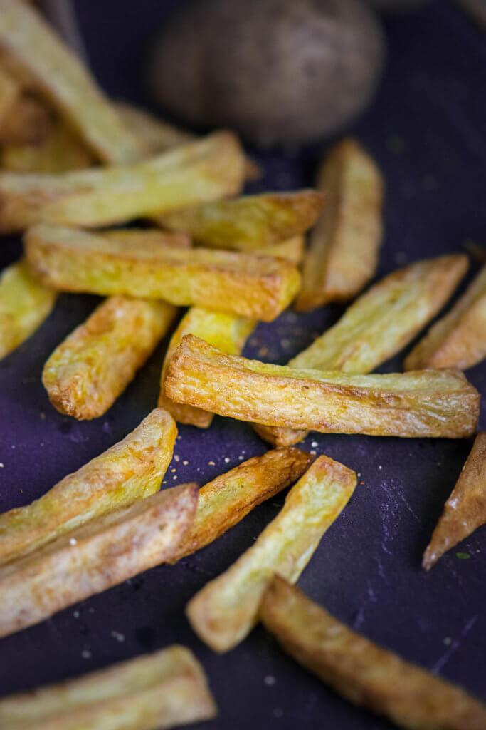 Alle liebe knusprige Pommes - so gelingen dir die Pommes ganz einfach ohne Fett Fritteuse