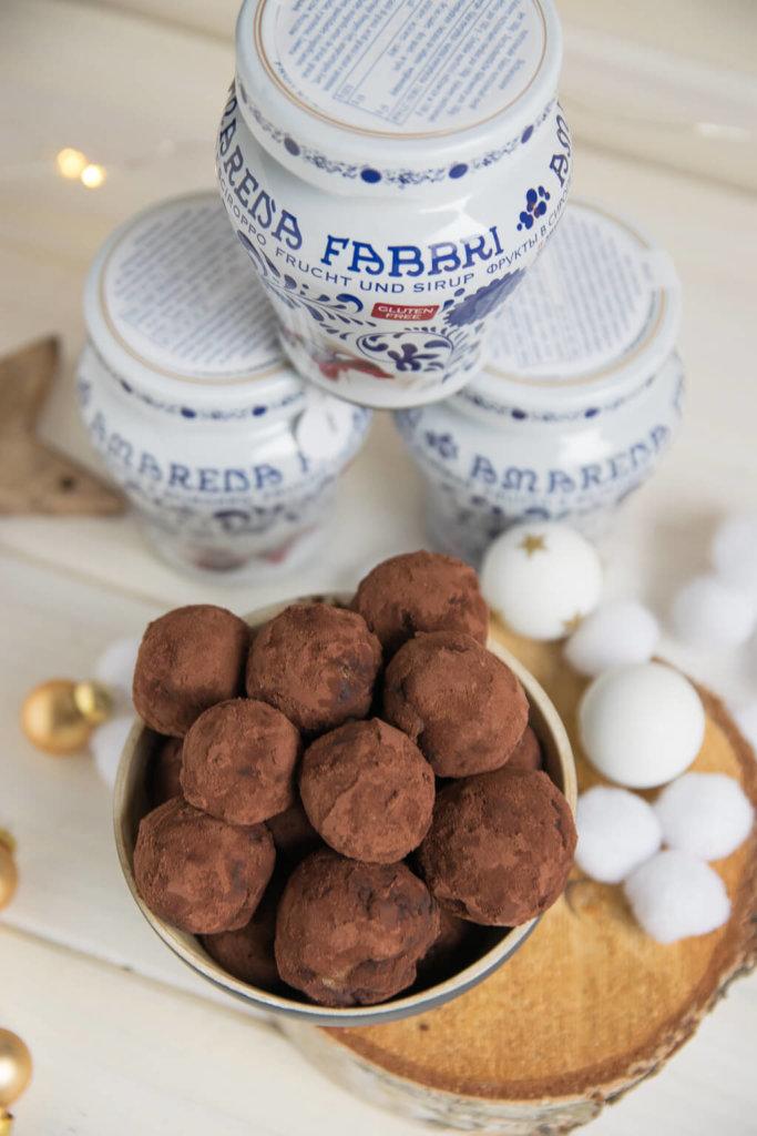 Marzipan Pralinen zum Selbermachen und Verschenken