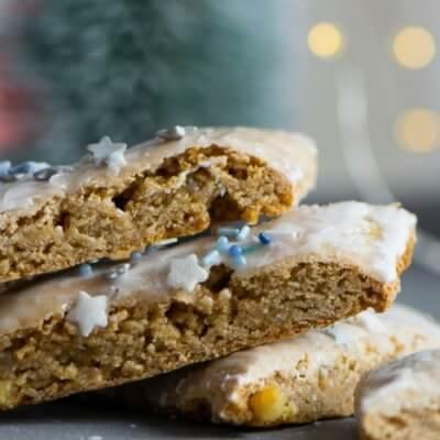 Saftig und aromatisch – diese Weihnachtsschnitten lieben alle