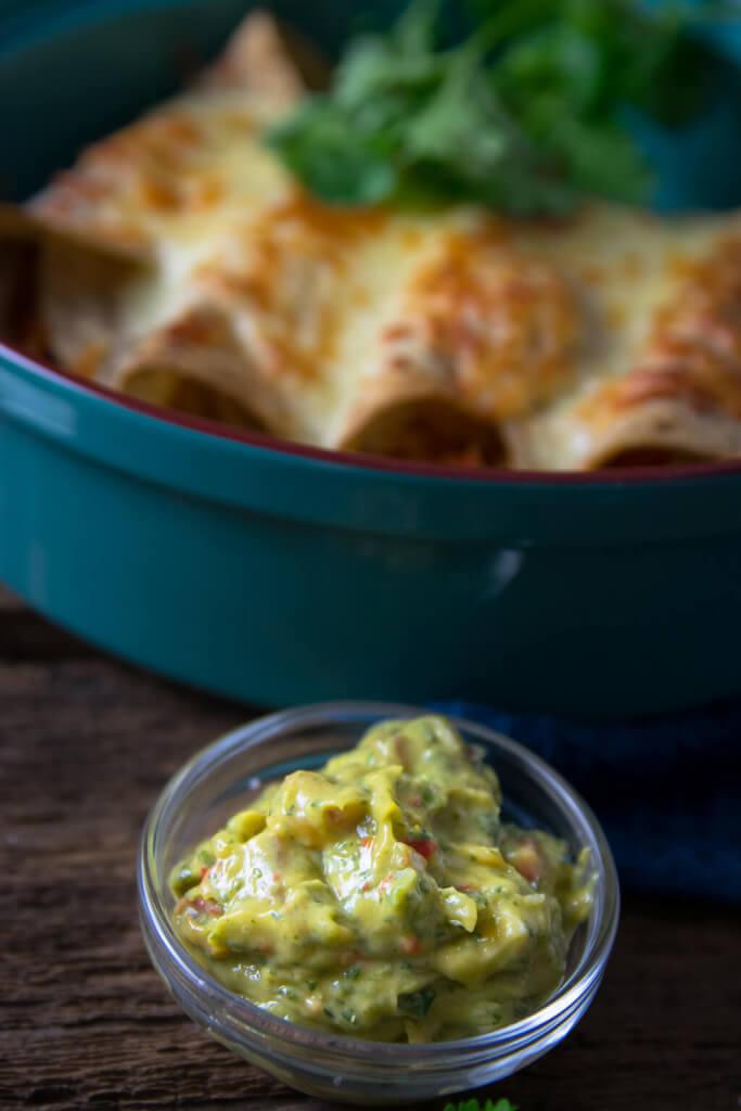 Wahnsinnig lecker und schnell gemacht - Geflügel Burritos mit Guacamole