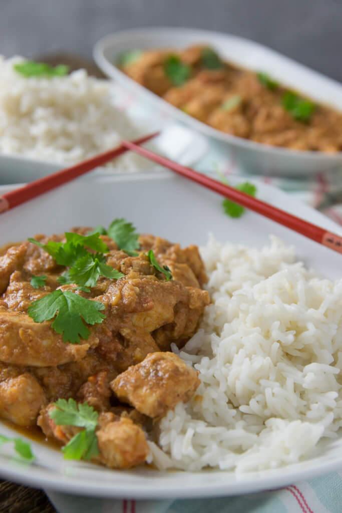 Superzartes indisches Butter Chicken