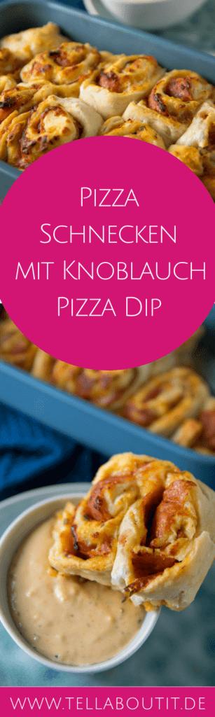 Diese Pizzaschnecken werden alle lieben, die gerne Snackrolls mit Smileys Pizza Dip bestellen. Denn die Pizzaschnecken sind leicht gemacht und der Pizza Dip schmeckt wie von Smileys! Natürlich mit schön viel Knoblauch.