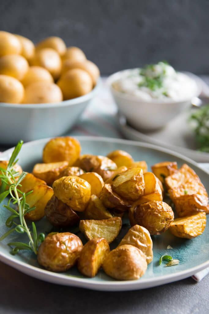 Rosmarin Kartoffeln aus dem Airfryer