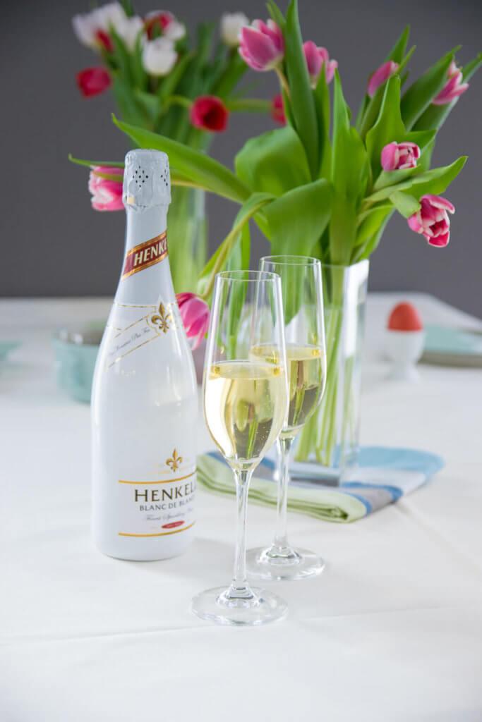 Sektfrühstück zu Ostern mit Henkell Blanc de Blancs