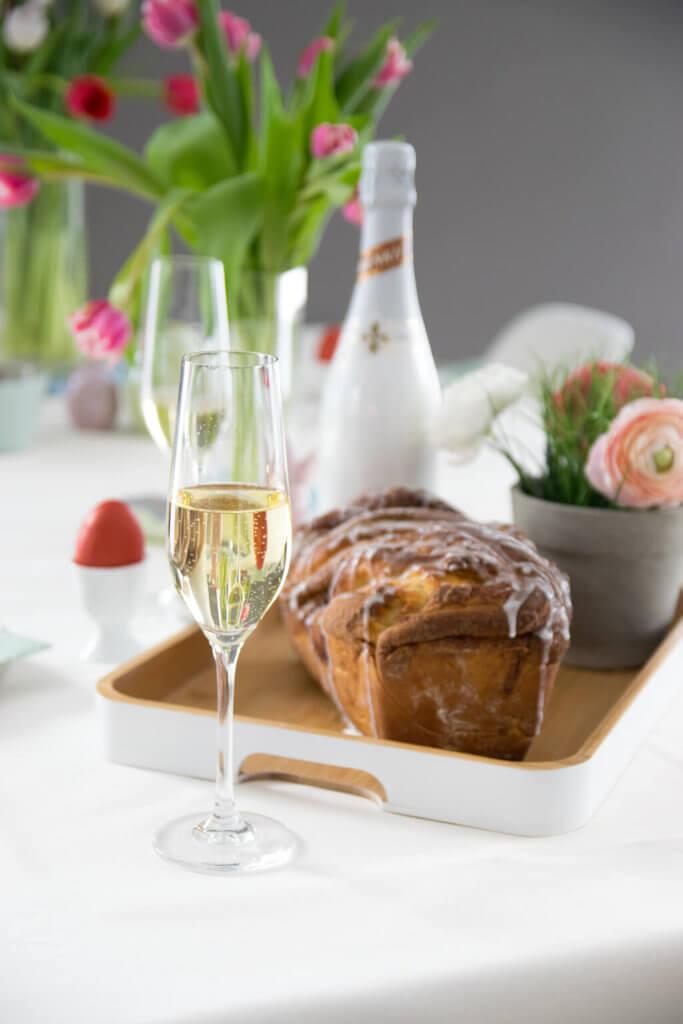 Zimt Hefe Zopf zum Frühstück - nicht nur perfekt zu Ostern
