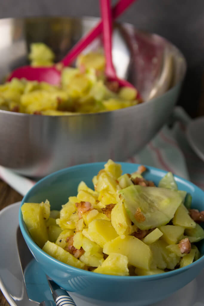 Omas Kartoffelsalat mit Speck