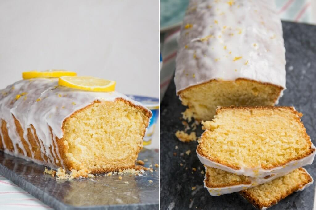 Zitronen Mascarpone Joghurt Kuchen