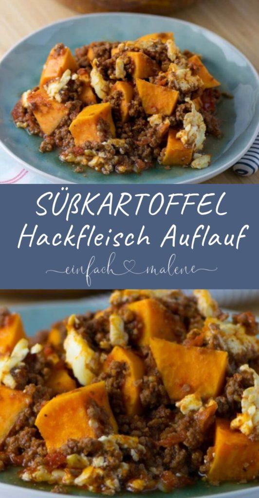 Im Ernst, dieses Rezept für Süßkartoffel Hackfleisch Auflauf ist ist der Knaller! Er ist gesund, schmeckt köstlich und lässt sich sehr einfach zubereiten.