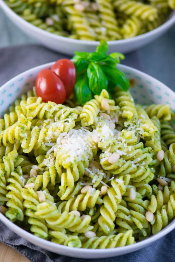 Ein Rezept zum Verlieben - Pasta mit Pesto Genovese