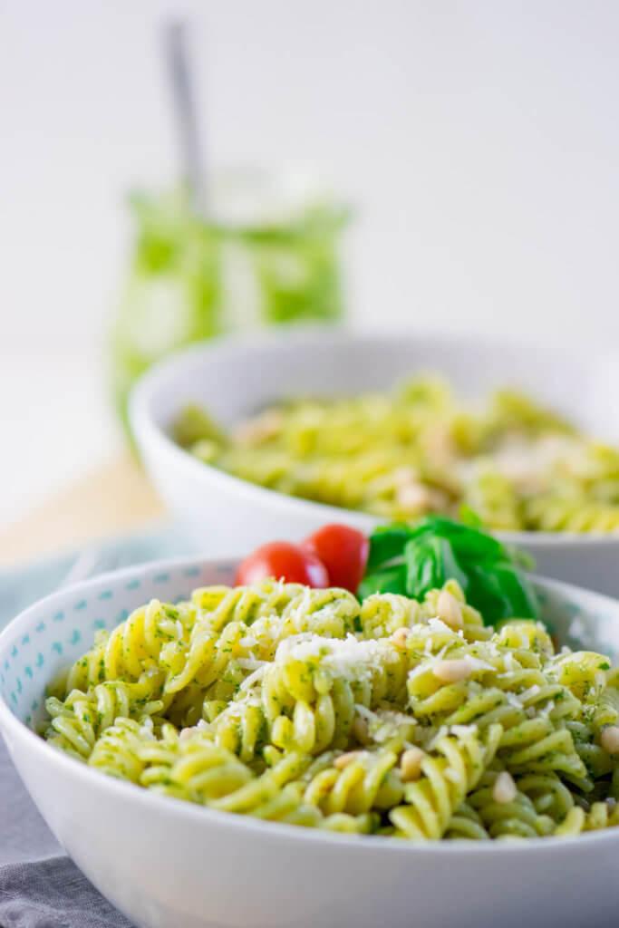 Pasta mit Pesto Genovese