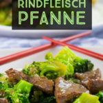 Einfach zukochen, Brokkoli und Rindfleisch in Sojasauce mit Reis