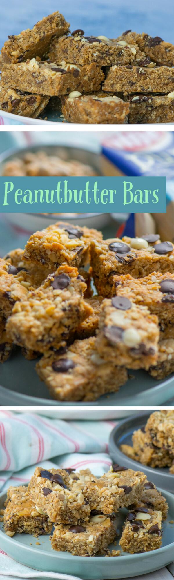 Mega leckere Erdnussbutter Riegel - gesunder Snack für zwischendurch