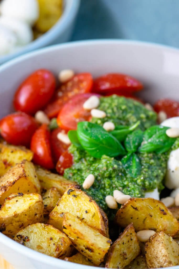 Pesto Potatoe Bowl