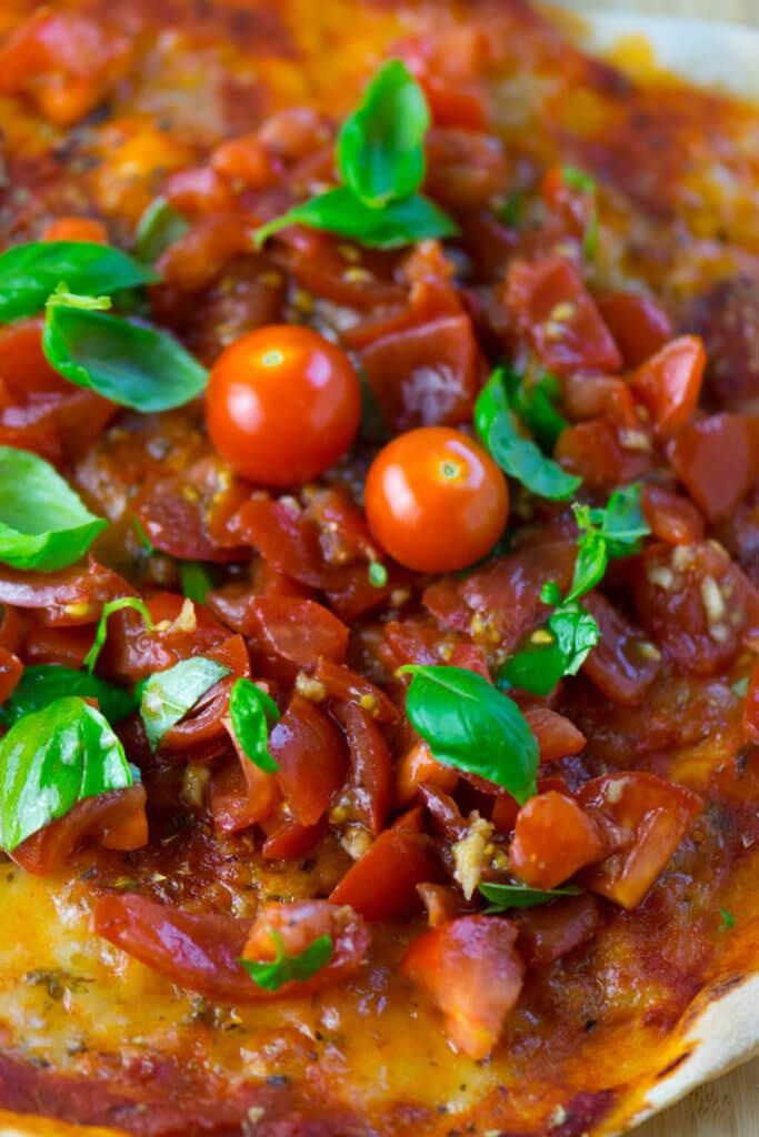 Tomaten Power - Pizza Buschetta