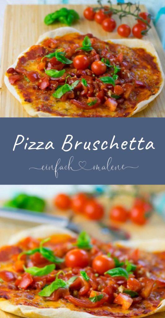 Mit dem ultimativen Rezept für knusprigen und super dünnen Pizzateig kannst auch du die perfekte Pizza Bruschetta ganz einfach zuhause selber backen.