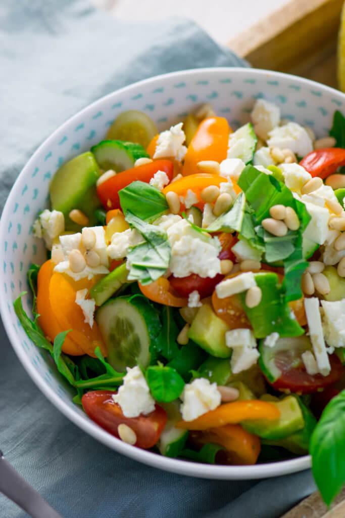 Gesund & Lecker, dieser Salat macht satt und schmeckt köstlich