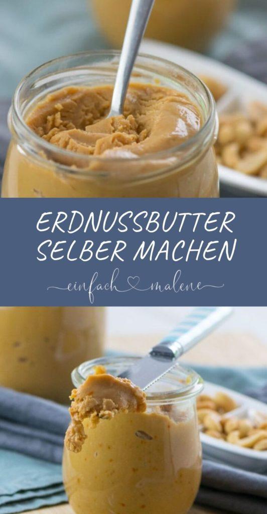 So einfach kannst du Erdnussbutter selber machen - mit nur 4 Zutaten.