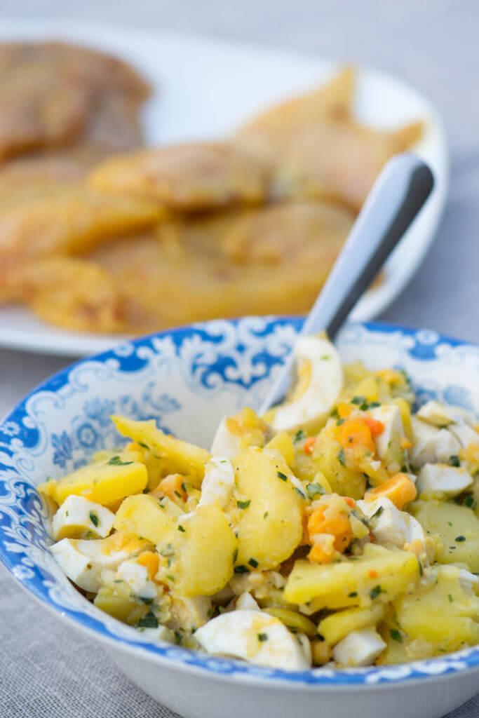 Einfach und lecker, Kartoffelsalat zum Grillen