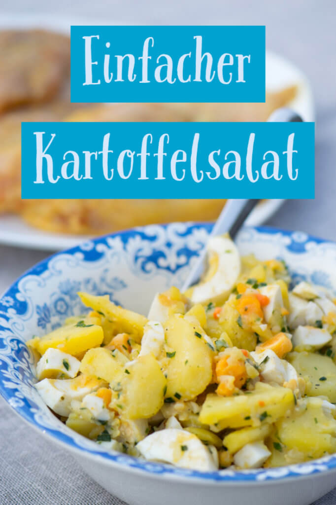 Schneller Kartoffelsalat perfekt für spontane Grill Sessions
