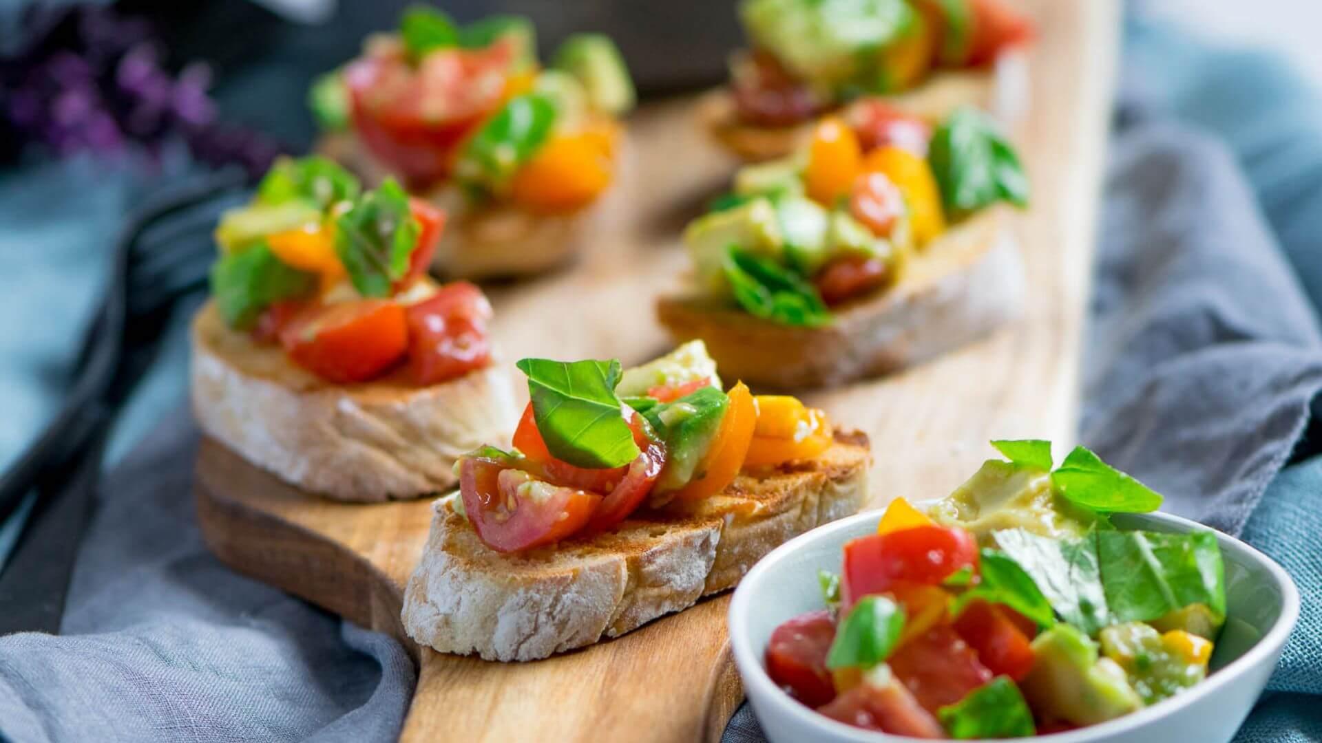 Super lecker und genial erfrischend - Avocado auf Röstbrot