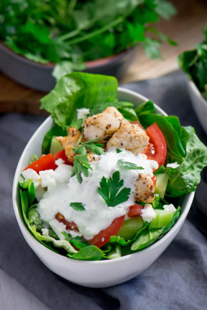 Yummy, Gyros Salat