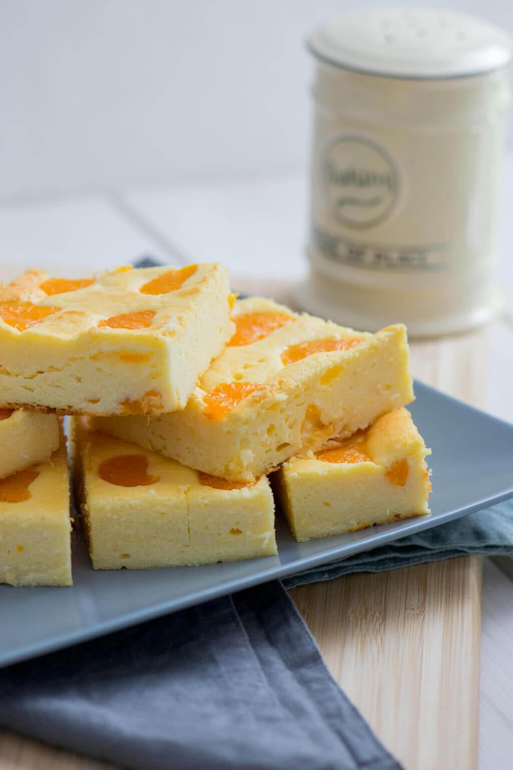 Quark Käsekuchen Mit Mandarinen Ein Echter Klassiker Ohne Boden