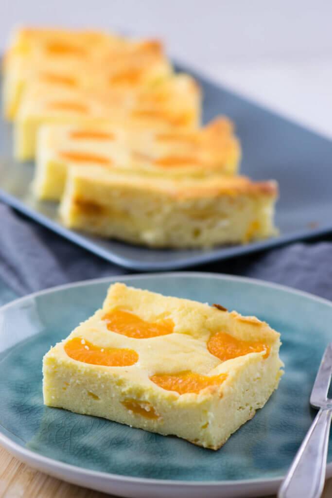 Mandarinen Quark Blechkuchen