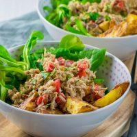 Thunfisch Röstkartoffel Salat