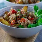 Schlemmersommer mit Thunfisch Röstkartoffel Salat