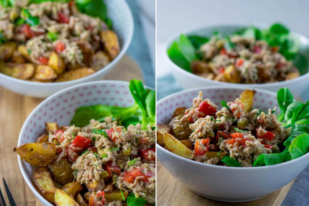 Thunfisch Röstkartoffel-Salat