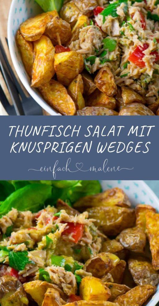 Gesunde knaller Rezepte für den Airfryer - Thunfisch Röstkartoffel Salat. Super leckerer Thunfisch Röstkartoffel Salat, besonders passend bei sommerlichen Temperaturen. Fertig in wenigen Minuten. Perfekt für den Airfryer.
