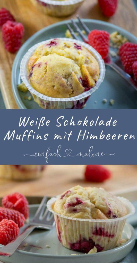 Weiße Schokolade Muffins mit Himbeeren. Und das Beste: die Muffins mit weißer Schokolade & Himbeeren sind in nur wenigen Minuten zubereitet und dank Frischkäse herrlich saftig und fluffig.