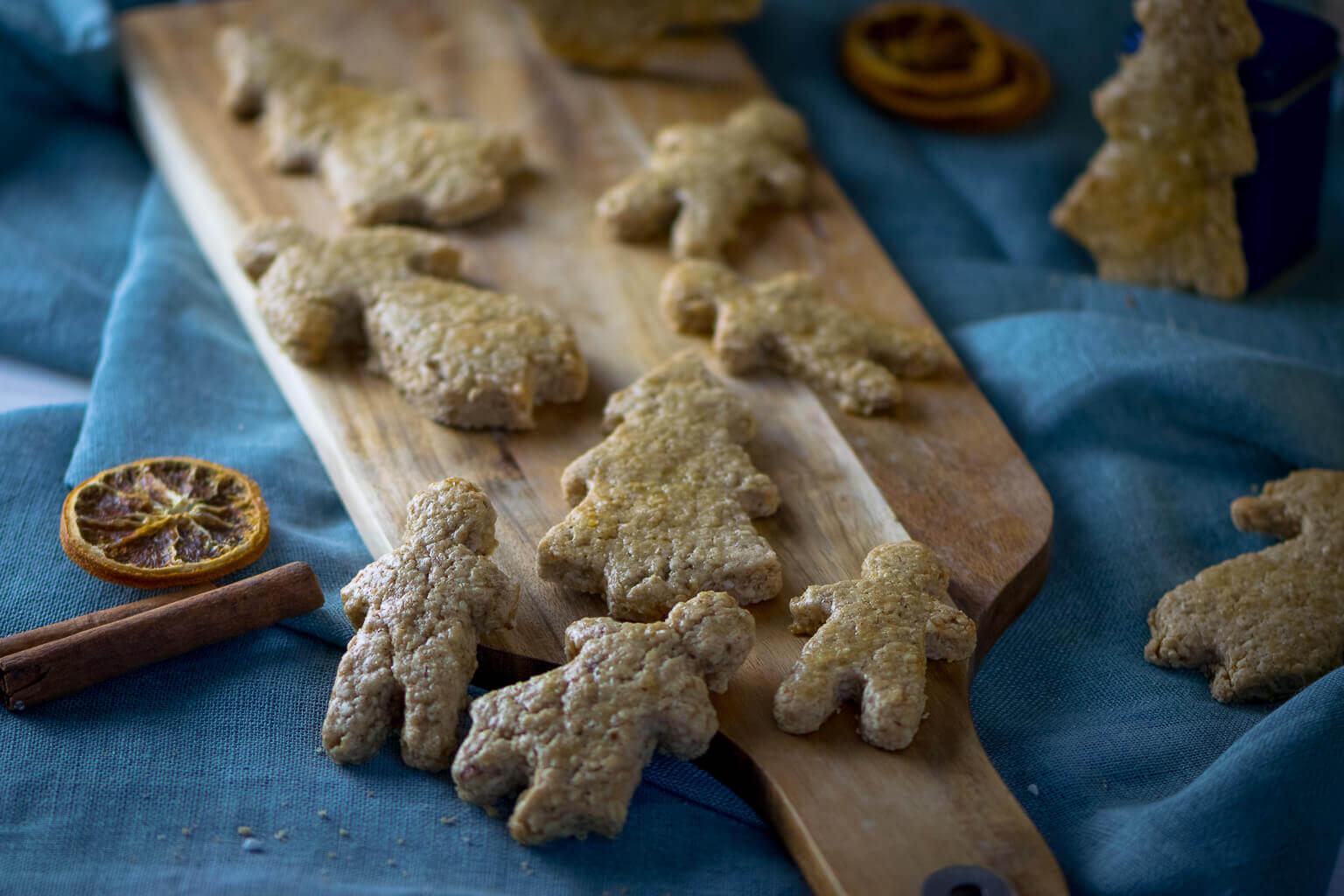 Spekulatius-Haferflocken Kekse zum Ausstechen