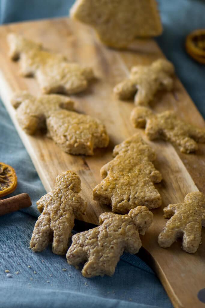 Haferflocken Kekse mit Spekulatiusgewürz