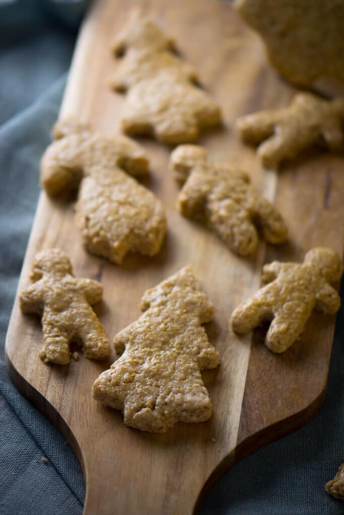 Spekulatius Kekse mit Haferflocken