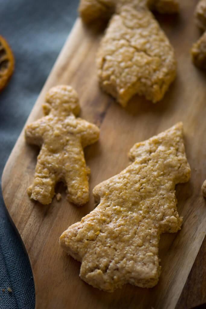 Spekulatius-Haferflocken Kekse zum Ausstechen - Zum Backen mit Kindern