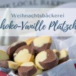 Schoko-Vanille Plätzchen