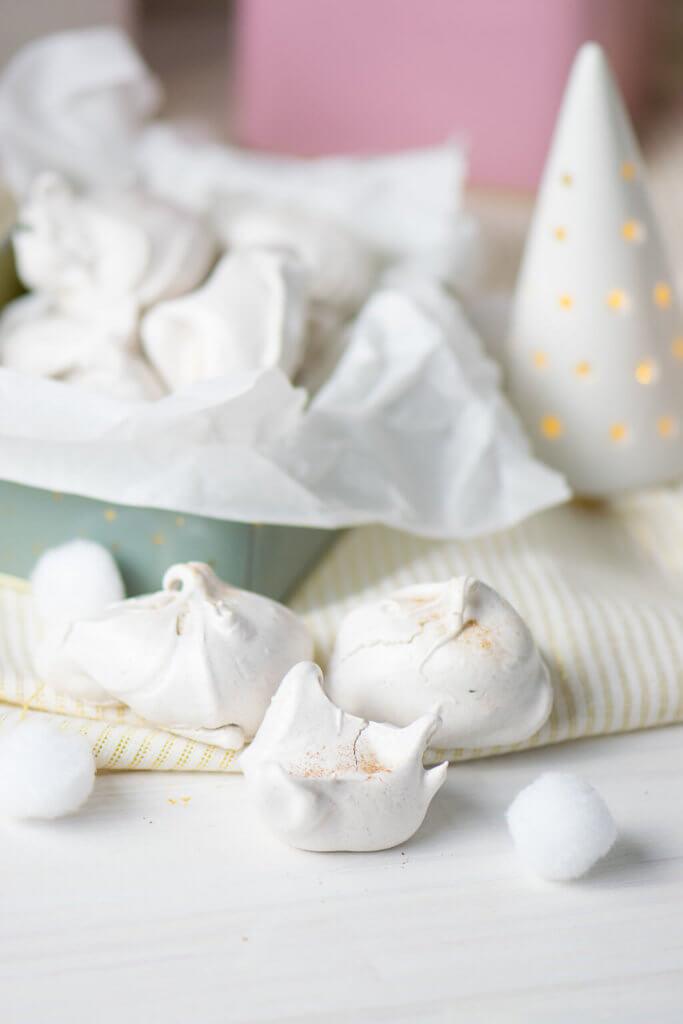 Plätzchen backen - Diese kleinen Chai Küsschen schmelzen auf der Zunge