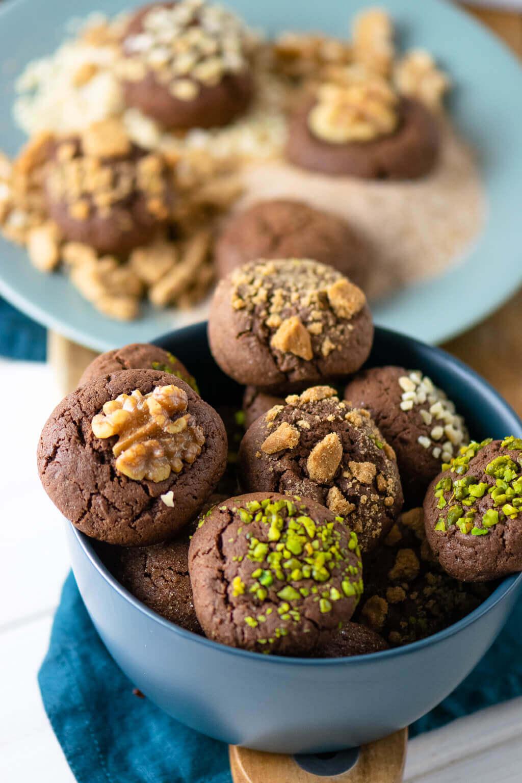 Christmas Brownie Cookies