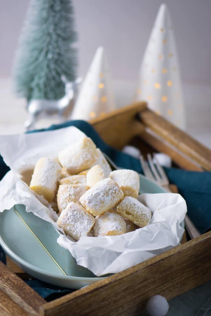 Diese Marzipan Traumstücke machen definitiv süchtig - zarte Weihnachtskekse