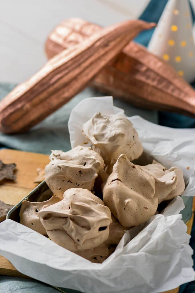 Zart schmelzende Schokoladen Baisers