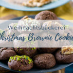 Backen für Weihnachten - Christmas Brownie Cookies