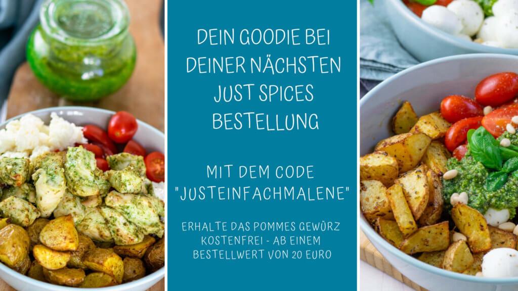 Rabattcode für Just Spices - Pommesgewürz