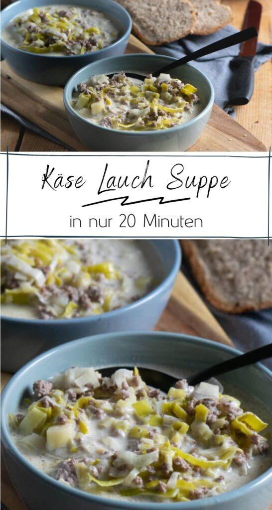 Diese Lauch Hackfleisch Suppe schmeckt unglaublich lecker & macht satt! Perfekt für deinen Feierabend - du brauchst nur 2 frische Zutaten und 20 Minuten Zeit zum Kochen. Cremige würzige Lauch Hackfleisch Suppe mit Rinderhackfleisch + Lauch (Poree). Besonders cremig dank Schmelzkäse + Creme Fraiche. Mit etwas Brot serviert ein absoluter Liebling auf jeder Party. Unser perfektes Feierabend Rezept für die ganze Familie. #feierabendküche #einfachegerichte #mahlzeit #suppen