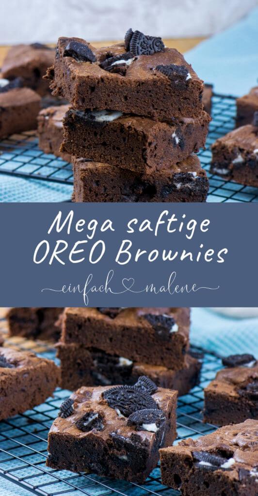 Die Oreo Brownies sind der Knaller! Das Rezept ist kinderleicht und nach nur 20 Minuten Backzeit sind die Oreo Brownies bereits fertig gebacken! Genau das richtige für alle OREO Fans!