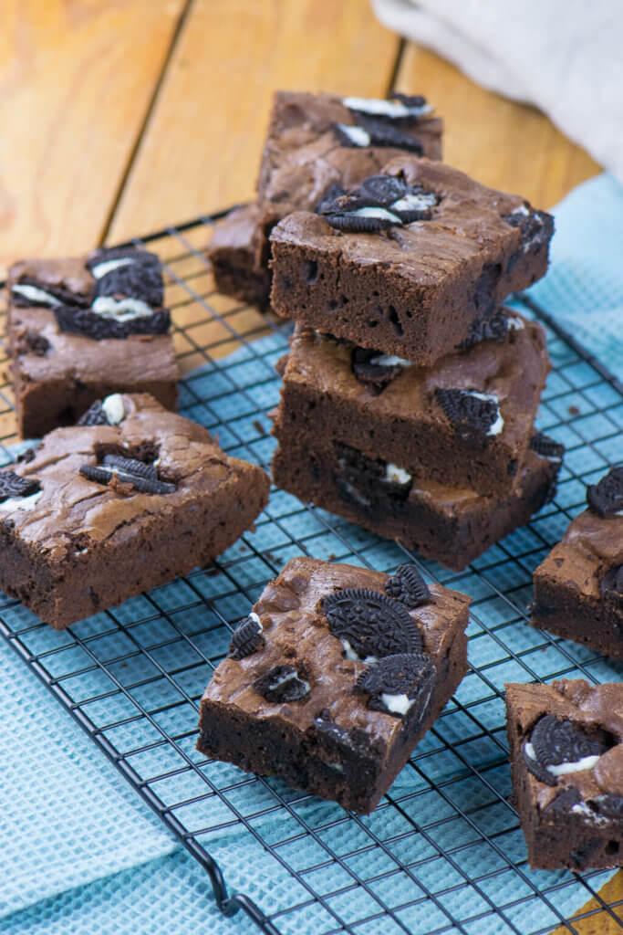Die Oreo Brownies sind der Knaller!