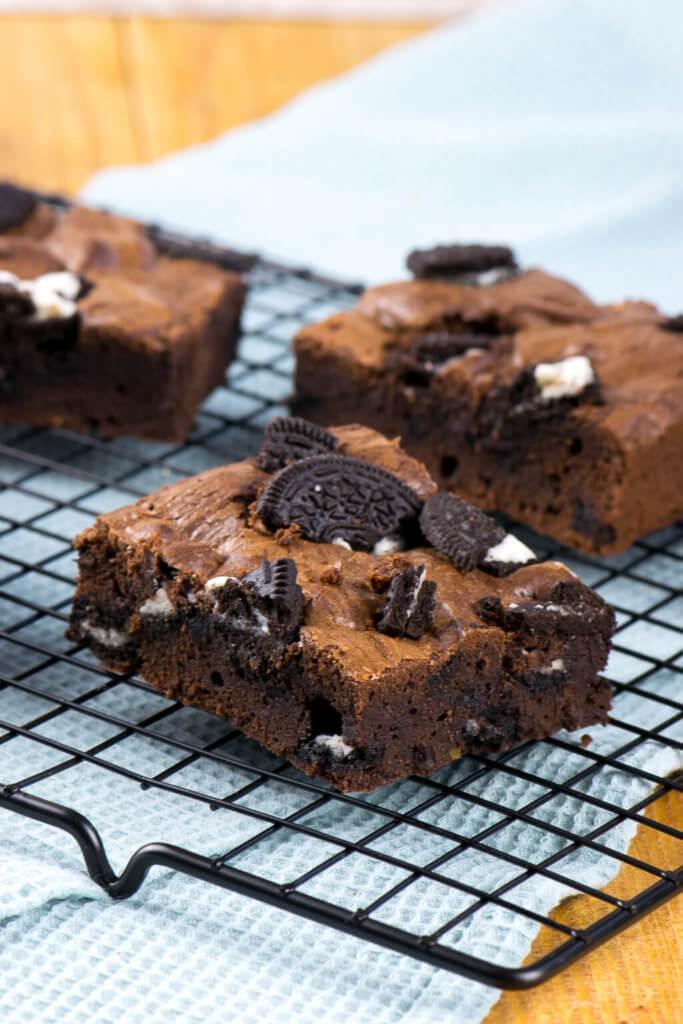 Einfaches Rezept für Oreo Brownies