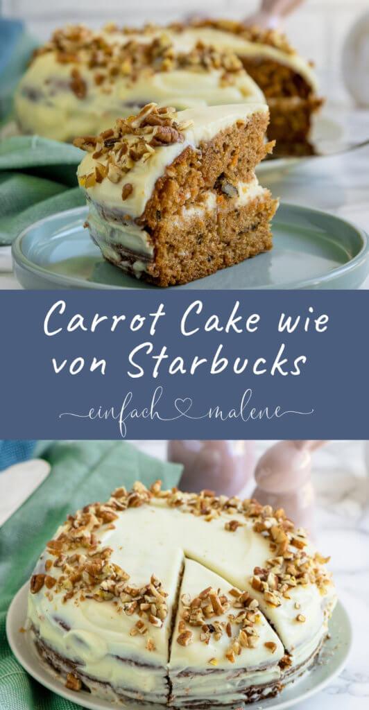 Ich liebe diesen Carrot Cake über alles. Denn dieser hier wird mit Nüssen und Zimt zum absolut leckersten und saftigsten Karottenkuchen überhaupt.